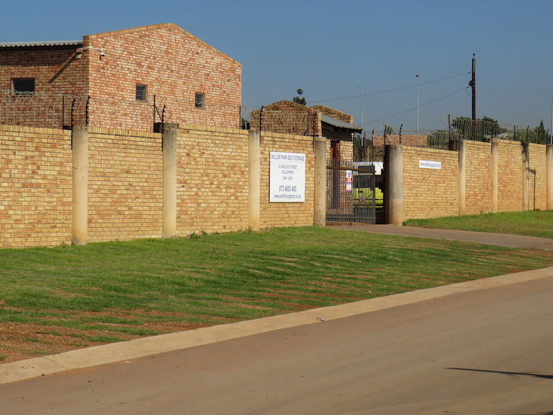 Willow Park Self Storage In Pretoria East Affordable And